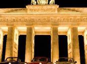 Trabant, coche icono Alemania roja.