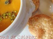 Crema Calabaza Pistachos Crackers Especiados. Despidiendo Halloween