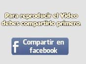 Compartir video Facebook para visualizar