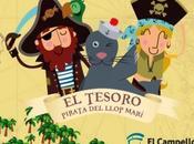 Campello niños: Búsqueda Tesoro Pirata Llop Marí