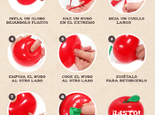 TUTORIAL DIY: manzana Blancanieves