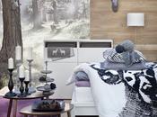 Trähus, cálido invierno Ikea
