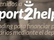 SPORT2HELP. social proyectos deportivos solidarios