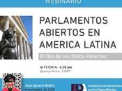 Primer webinar @idatosabiertos: Parlamentos abiertos Latam
