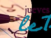 Jueves Letras Mariano.