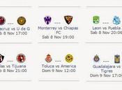 Programacion television jornada apertura 2014 futbol mexicano
