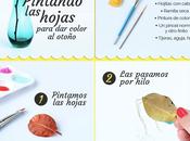 TUTORIAL DIY: Pintando hojas