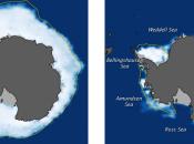 frío hielo Ártico Antártico