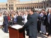 Protesta atronadora contra políticos socialistas Sevilla