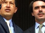 Cuando Aznar visitó Chávez.