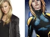Primer Vistazo Katie Cassidy Como Black Canary Tercera Temporada Arrow