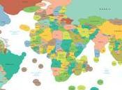 Mapa territorial Mundo.