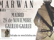 Marwan madrid: noviembre, sala galileo galilei