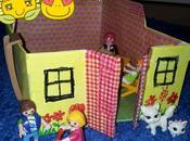 Casa cajas cartón