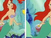 serían Princesas Disney medidas reales