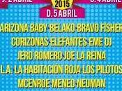 SanSan Festival 2015: Sidonie, Corizonas, Elefantes, Jero Romero, Second...