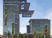Arquitectura vanguardia: edificio-jardín Sídney, gana premio mejor rascacielos año.
