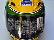 Casco tributo Ayrton Senna sobre Horizon