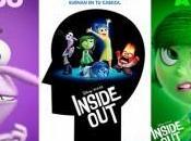 Carteles español protagonistas 'Inside Out', nuevo Pixar