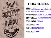 Reseña: Manual para Sobrevivir Mundo Mierda, Laura Sánchez