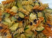 Pasta Calabacín, Aceitunas Negras Queso
