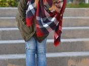 Look day: Zara maxi scarf