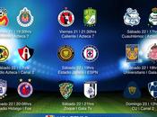Trasmisión jornada apertura 2014 calendario fechas horas