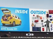 Honda crea divertida valla publicitaria para demostrar capacidad maletero