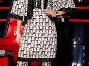 "Gwen Stefani espléndida Chanel ""The Voice"""