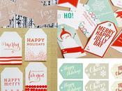 Etiquetas imprimibles para estas Navidades