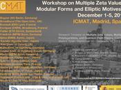 congreso para finalizar trimestre temático sobre Valores Multi Zeta, Polilogaritmos Múltiples Teoría Campos Cuánticos ICMAT