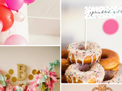 Inspiración #61. Pink, gold mint baby shower