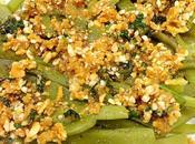 Judias verdes salsa crujiente