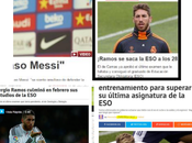 Sergio Ramos: ejercicio falso periodismo