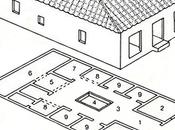 casa romana. espacios.