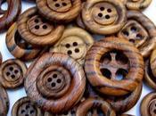 Botones madera, para utilizados