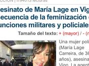 artículo machista Alerta Digital insulta muerte policía Vigo