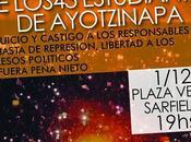 5ta. Jornada Internacional Ayotzinapa: MOVILIZAMOS APOYO LUCHA PUEBLO MEXICO