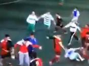 Batalla campal partido juveniles Palo (Málaga), vídeo Cadena
