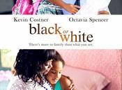 """Primer póster """"black white"""" kevin costner"""