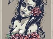 """Tutorial Español: Tatuaje Sexy Estilo """"Día Muertos"""""""