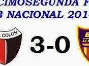Colón:3 Boca Unidos:0 (Fecha 22°)