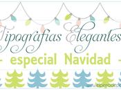Tipografías Elegantes Navidad Licencia Comercial