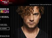 Feel Live, plataforma española para transmisión vivo conciertos música través Internet