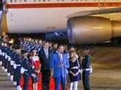 Felipe presidente Rajoy aterrizan Veracruz.