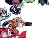 Portada alternativa Skottie Young para Uncanny Avengers