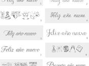 Tipos letras: nuevo para hacer cartelitos etiquetas