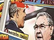 Periodismo cómic: Obama Castro Cuba -versión caricaturas-