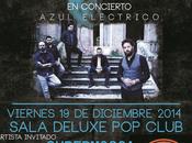 """Bauer concierto presenta """"azul electrico/// viernes diciembre 22:30 sala deluxe club (valencia)) artista invitado: supermosca"""