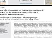 Desarrollo impacto sistemas informatizados apoyo decisiones clínicas depresión Triñanes col.